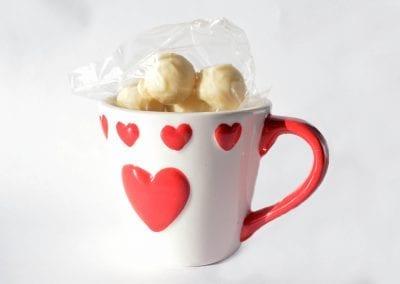 Valentines mug chocolates