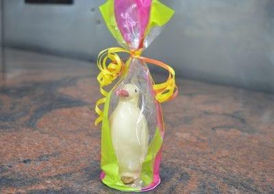 Chocolate penguin